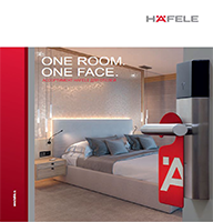 One Room. One Face. Ассортимент Hafele для отелей