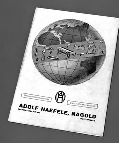 Hafele first Catalogue